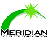 Meridian Computer Corporation Logo